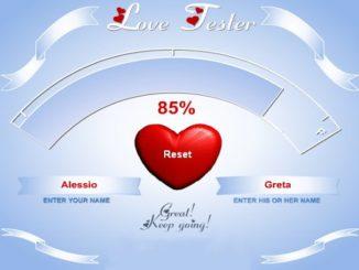 Test amore gratis per ragazze