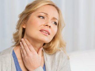 Mal di gola persistente senza febbre